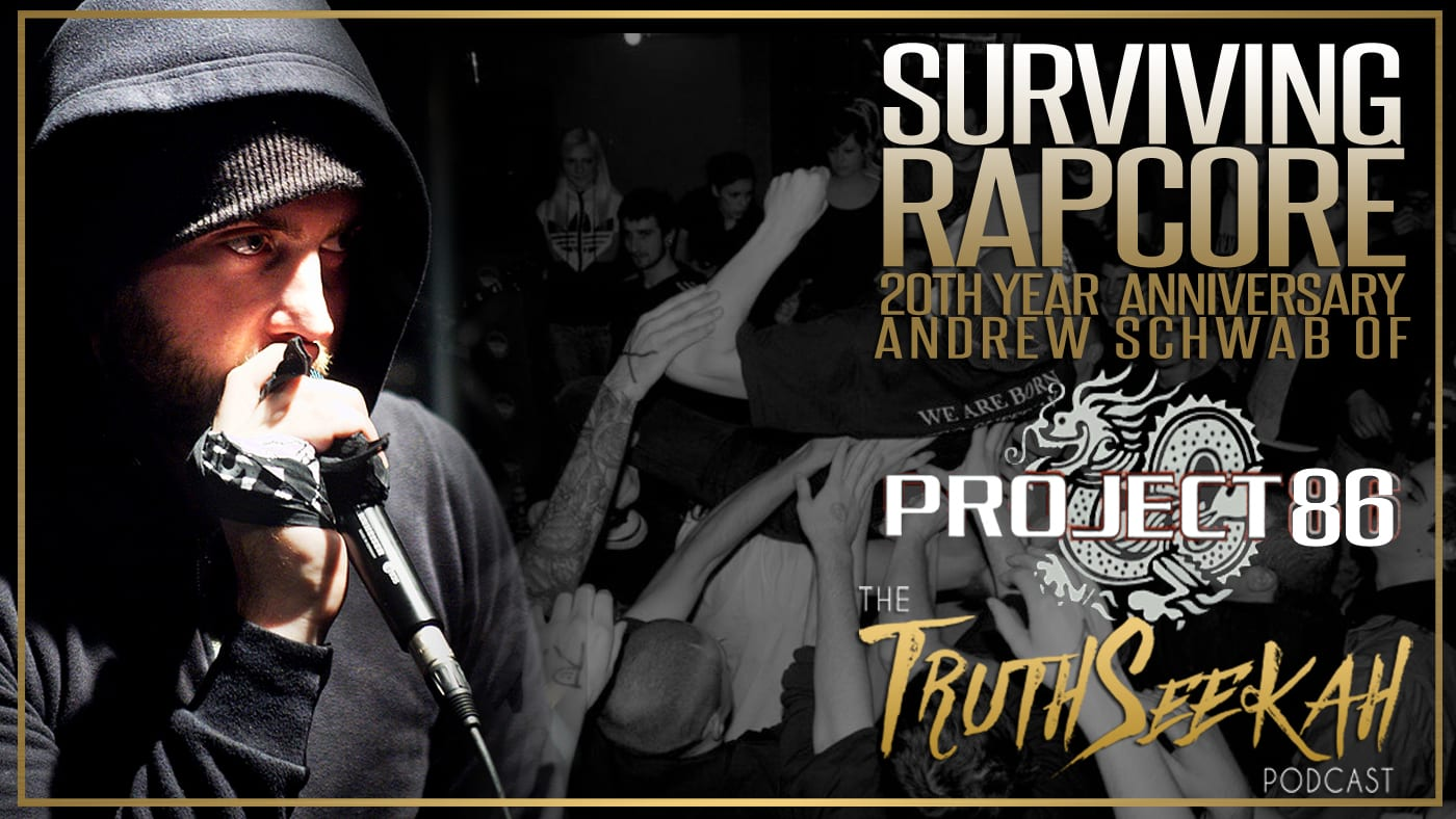 Andrew Schwab of Project 86 | Surviving Rapcore, 20th Year Anniversary & More!