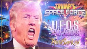 donald trump space force ufos