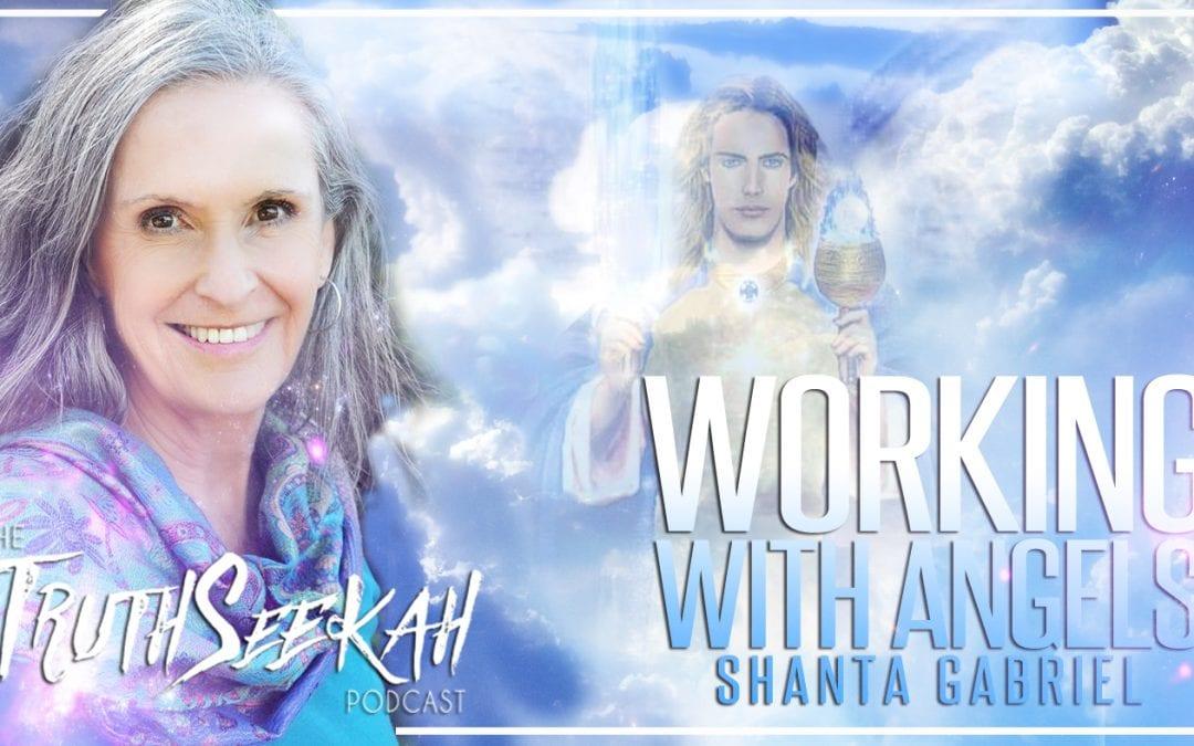Working With Angels | Archangel Michael Encounter | Shanta Gabriel