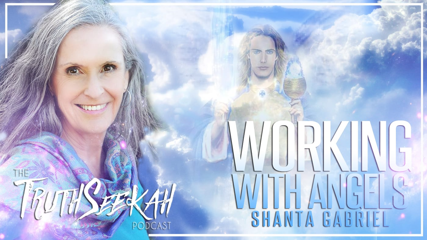 Working With Angels | Archangel Michael Encounter | Shanta Gabriel