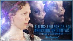 laura eisenhower aliens abduction