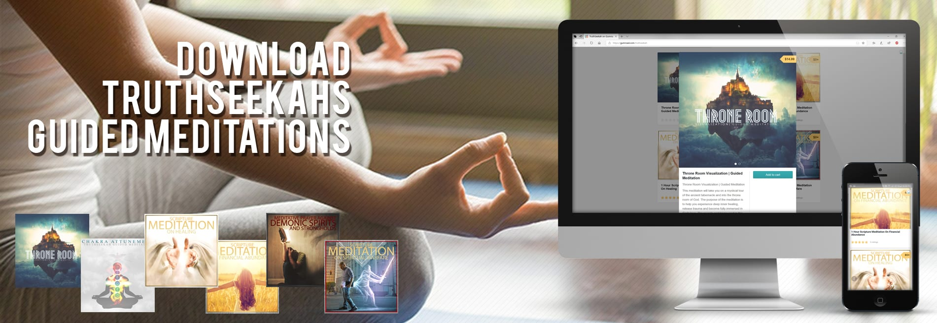 5 Powerful Interactive Guided Meditations