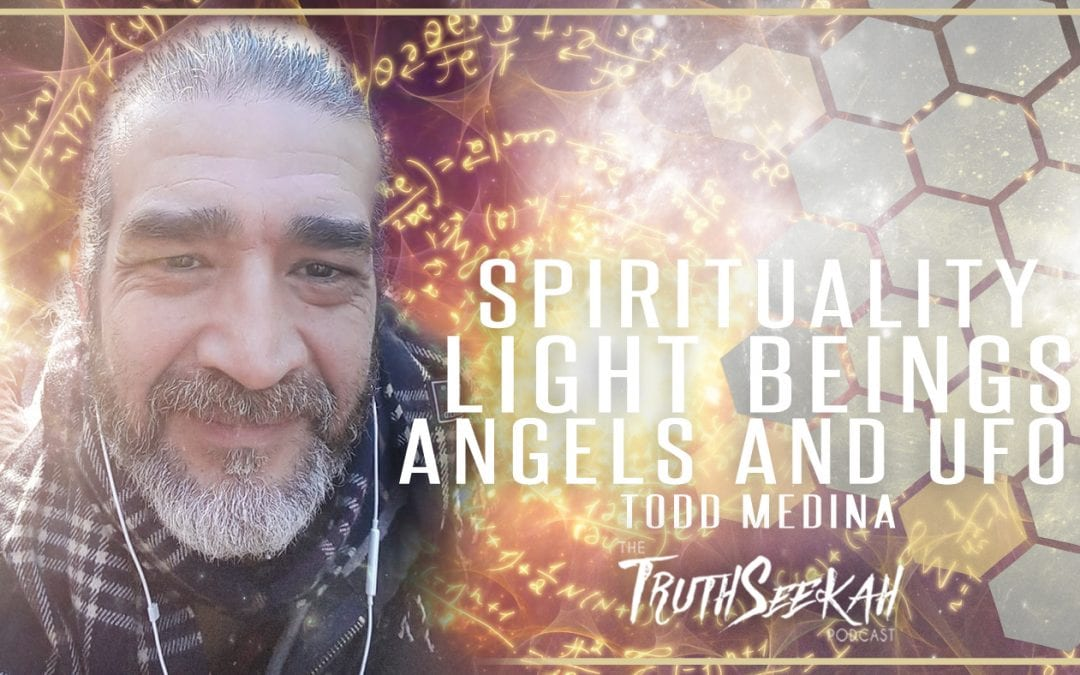 World UFO Day Broadcast | Spirituality, Light Beings, Angels and UFOs | Todd Medina