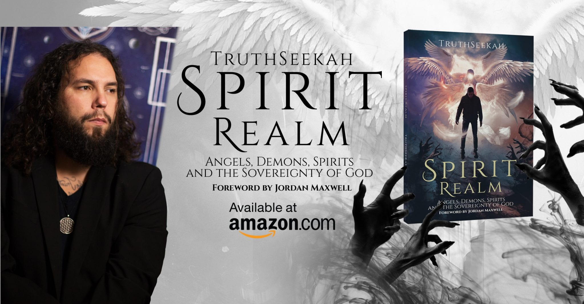 ⭐TruthSeekahs' New Book Is Here!! Spirit Realm Book Interview With Michael Basham