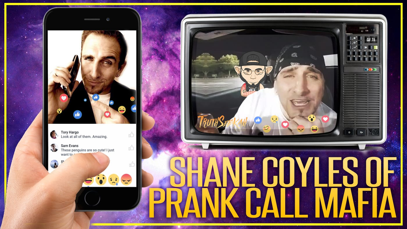 Shane Coyles of Prank Call Mafia | Psychology of Channeling | Catching Child Predators + Prank Calls