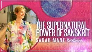 Sarah Mane Sanskrit