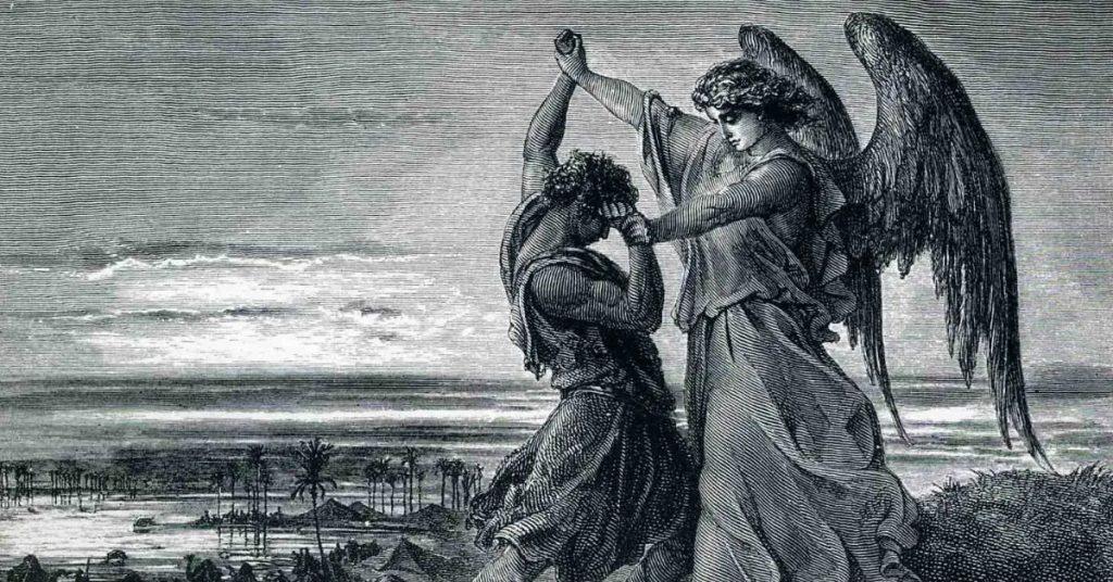 Jacob Wrestling With God At Peniel