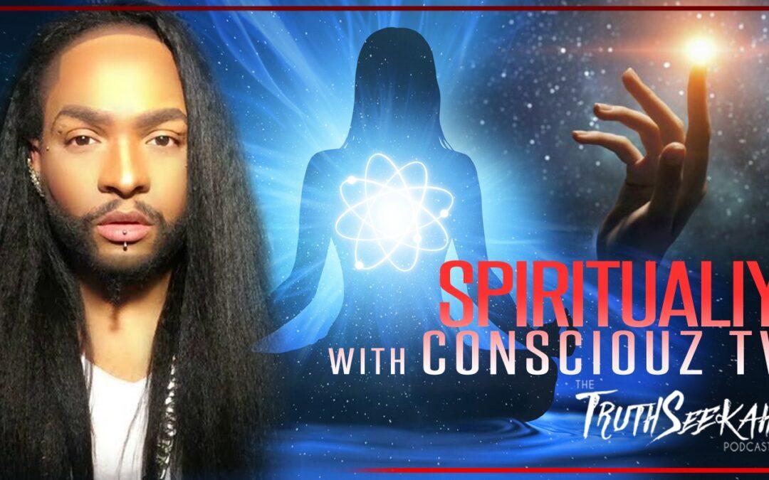 Consciouz TV | Spirituality, Horror Movies, Death and Pop Culture | Davyon | TruthSeekah Podcast