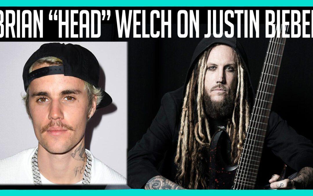 Brian Head Welch Justin Bieber