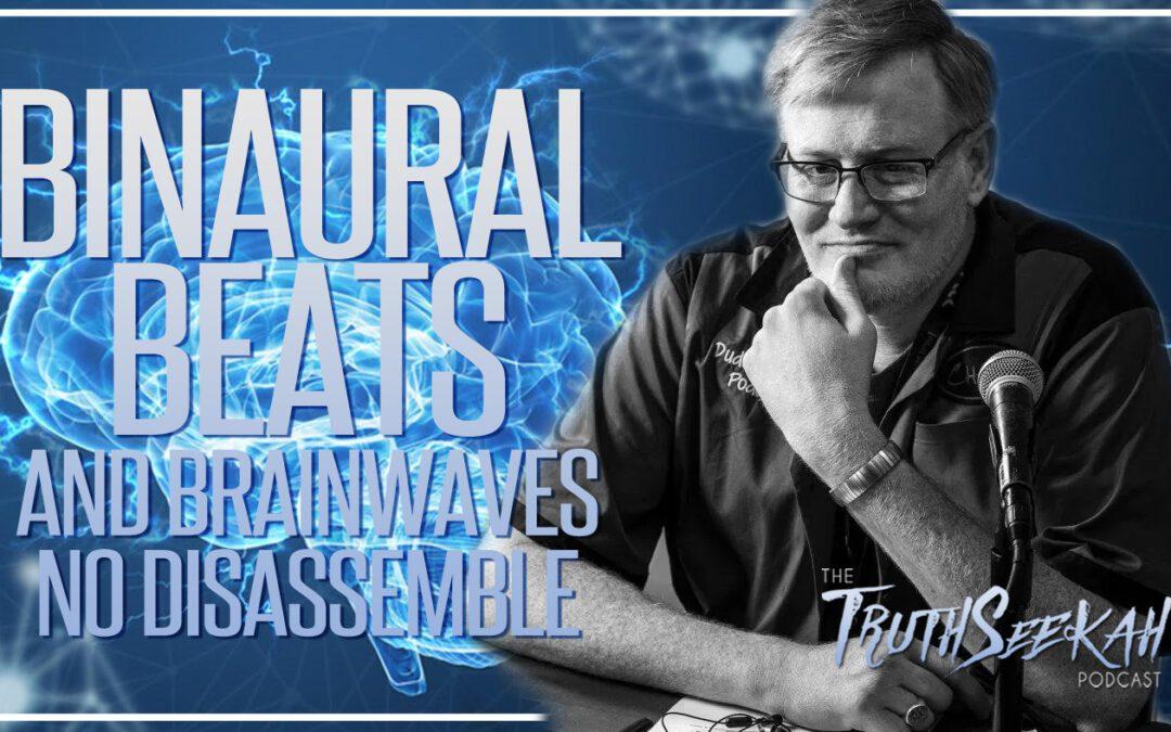 Binaural Beats and Brainwaves + Energy Healing   No Disassemble   TruthSeekah Podcast