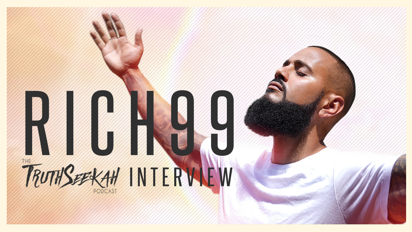 Rich99 | From Santeria, Demons & Witchcraft To Christ | Christian Rap | TruthSeekah Podcast