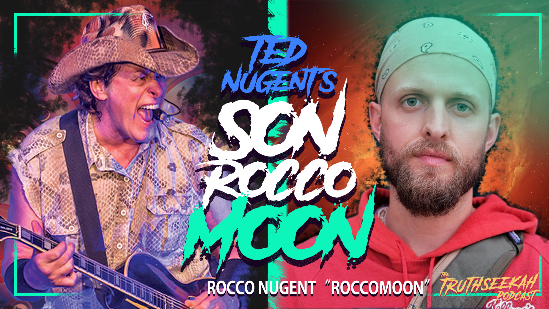 Ted Nugent's Son Is A Spiritual Power House – Rocco Nugent (Roccomoon) TruthSeekah Podcast