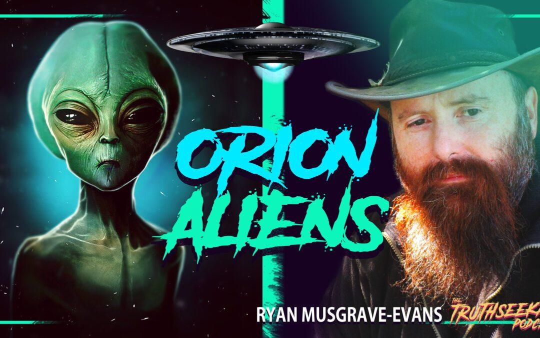 Aliens Are Here! Paranormal Encounters & Strange Beings – Ryan Musgrave-Evans – TruthSeekah Podcast