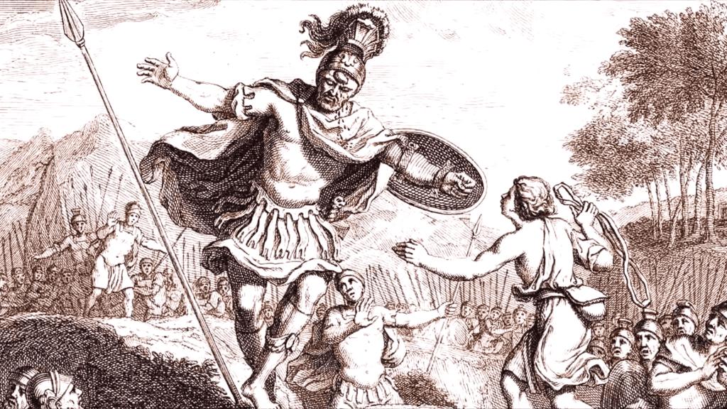David Versus The  Nephilim Goliath